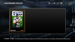 MUT 15 - NFL Honors Pack Opening! 11 Pro Packs With 2 Nice Elites!