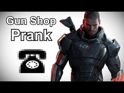 Шепард-пранкер обзванивает оружейные магазины
