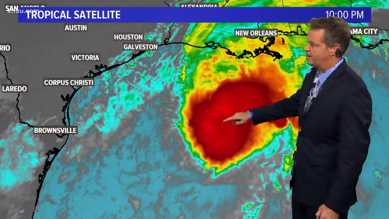 Eye on the Tropics | Tracking Tropical Storm Beta in the Gulf