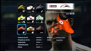 Pack de botas (81 boots) PesEdit 2.6.1 Thumbnail