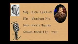 Kanne Kalaimaane Karaoke by Venki