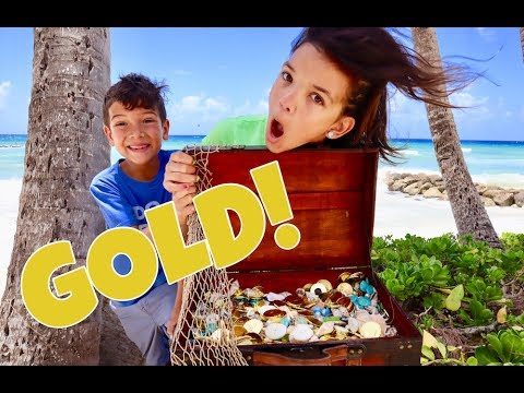 Search for PIRATE TREASURE & WE FOUND REAL GOLD!