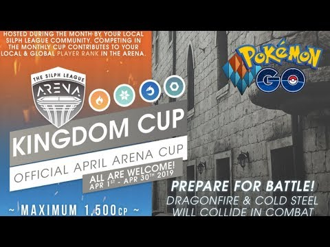 THE KINGDOM CUP HAS BEEN ANNOUNCED! Pokemon GO PvP Silph Road OFFICIAL TOURNAMENT! thumbnail