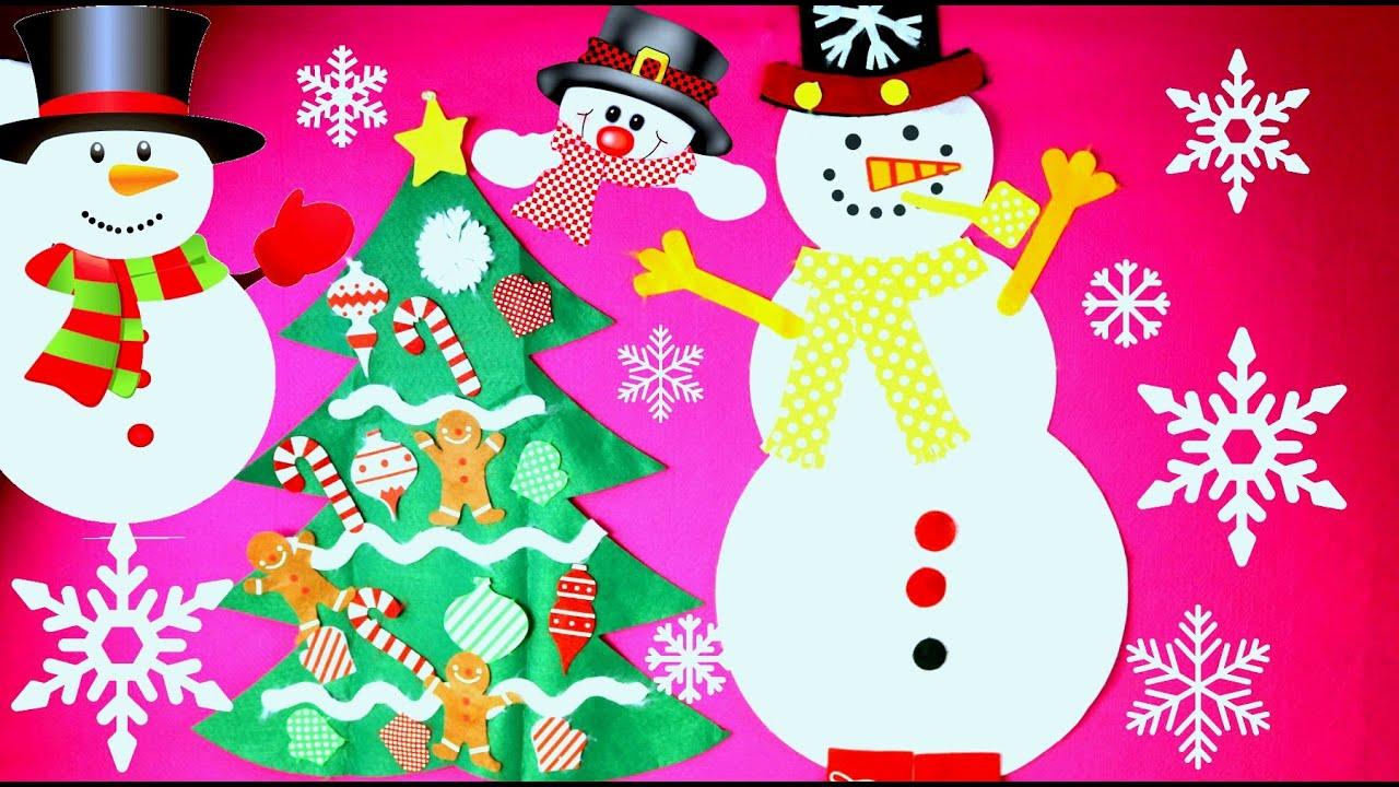 Muñeco de Nieve Actividades Para Niños Snowman Kids Acitivities ...