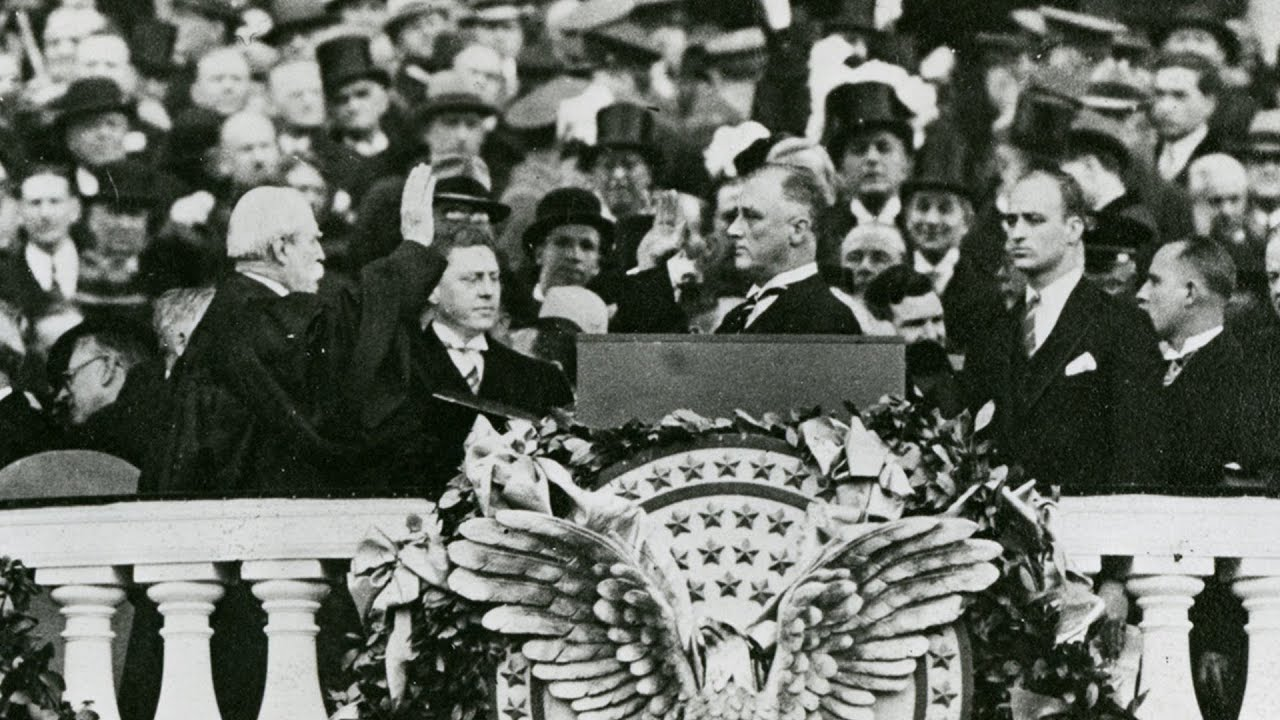 Image result for inauguration fdr 1933