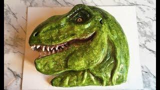 """ТОРТ """"ТИРАННОЗАВР РЕКС"""" 3D / Торт Динозавр / Праздничный Торт/ Cake Dinosaur T-REX"""