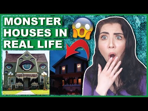 Monster Houses In REAL LIFE
