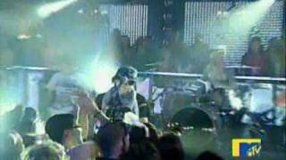 Kevin Rudolf - Let it Rock Live @ MTV New years Eve 2008