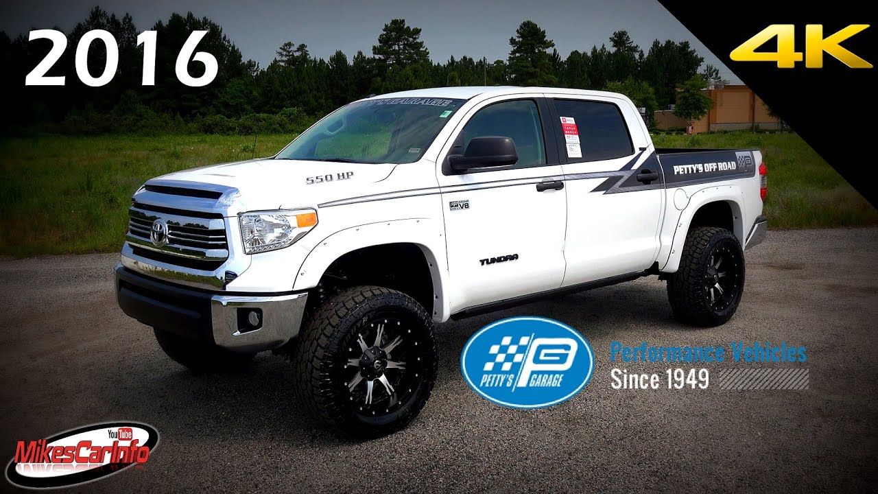 2016 toyota tundra customized by petty 39 s garage detailed. Black Bedroom Furniture Sets. Home Design Ideas