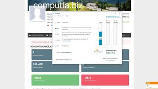 Computta 2019 майнинг mining Биткоин  Заработать биткоины на  домашнем ПК . Рефералы.Настройка. 720p