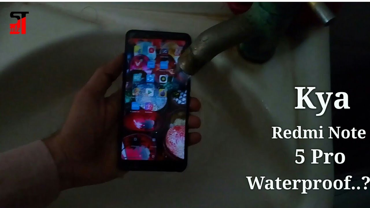 new product 67cba 8d883 Redmi Note 5 Pro water test | kya redmi Note 5 Pro waterproof hai?