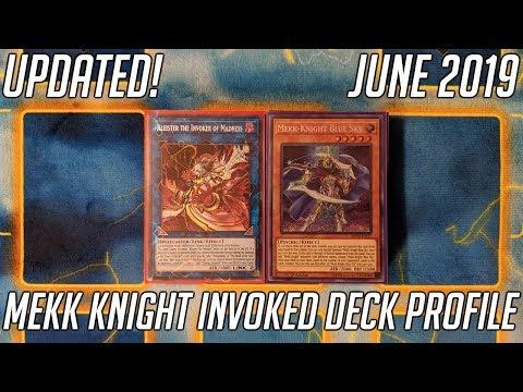 Yu-Gi-Oh! Mekk Knight Invoked Deck Profile - Updated (June 2019)