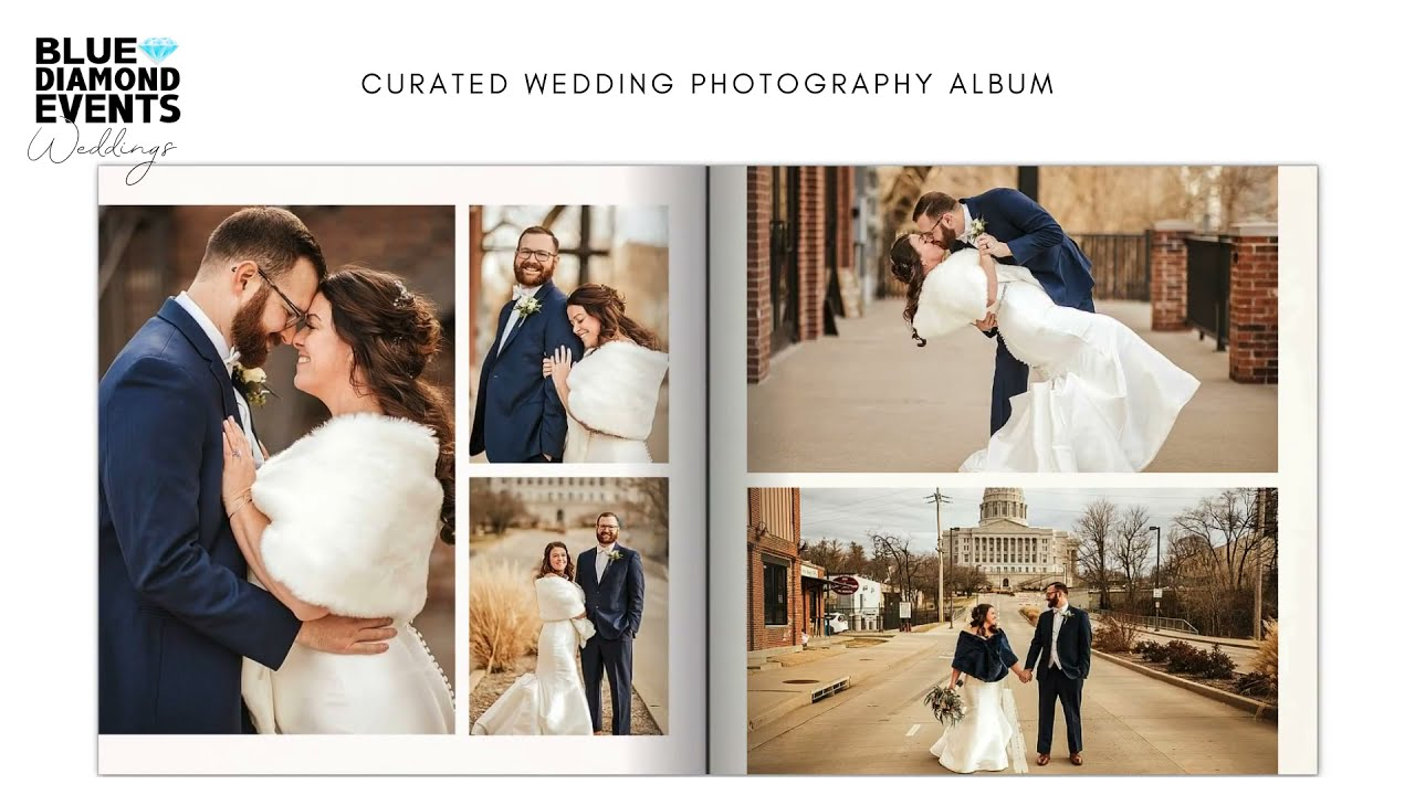 Take A Look Inside a Custom Wedding Photography Album