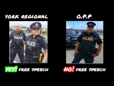 Provincial Police And Regional Police View Canadian Freedoms Differently