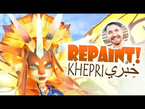 Repaint! Khepri the Light Dragon - Nicholas Kole Collaboration