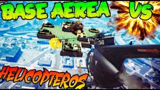 BASE AEREA VS HELICOPTEROS !! 1# MINIJUEGO EPICO GTA V !! GTA 5 ONLINE Makiman