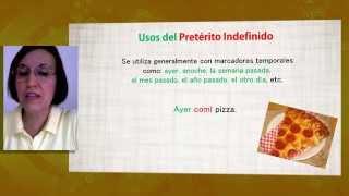 aula espanhol pretrito indefinido espaol