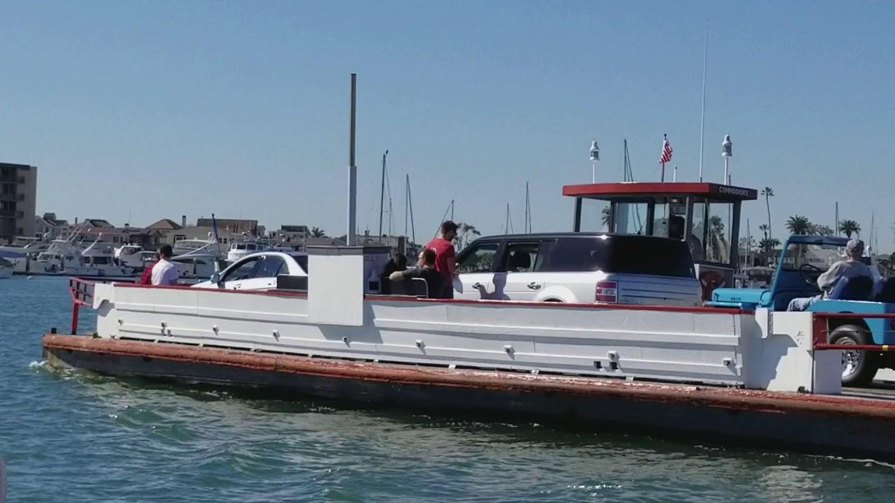 Newport Beach Balboa Island Ferry Ride