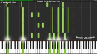 Shingeki no Kyojin OST - Call Your Name - Synthesia (Piano) (BaddyDan89)