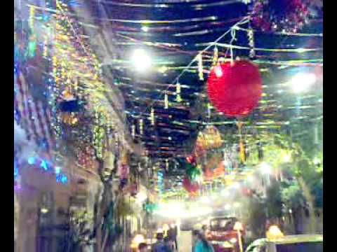 Street decoration on 12 rabi ul awwal sabzazar youtube for 12 rabi ul awal decoration pictures