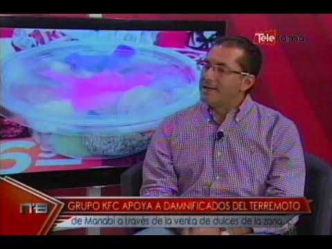 Grupo KFC apoya a damnificados del terremoto de Manabí a través de la venta de dulces de la zona