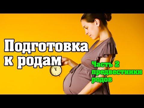 Признаки приближающихся родов. Часть 2. Предвестники родов у первородящих