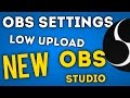 Best NEW OBS Studio Streaming Settings for Slow Internet Speed 720p & Upload Speed Explained