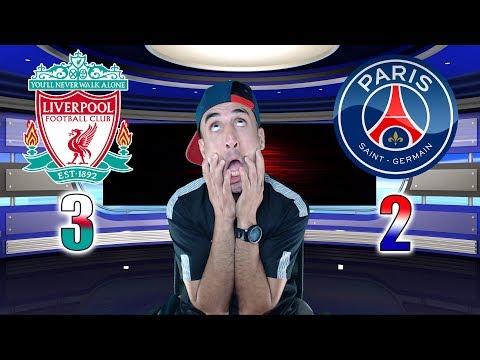 LIVERPOOL 3-2 PARIS SG - Azéd Stories -