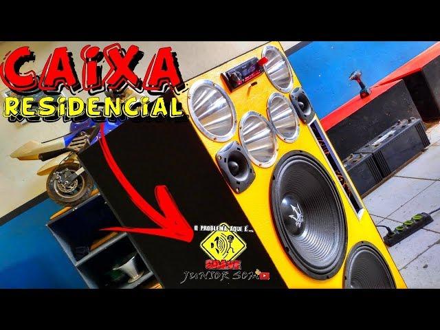 CAIXA RESIDENCIAL s/ Bateria...Custo Beneficio top & otima qualidade!!! ?JuNiOr SoM?®