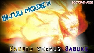 naruto uns full burst   bijuu mode naruto vs sasuke