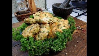 Налетай! Котлетки с сыром из куриной грудки. Рецепт от Александры Васильевой.