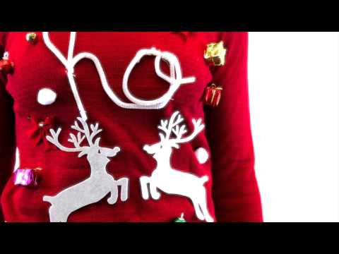 DIY Ugly Christmas Sweater Kit - YouTube