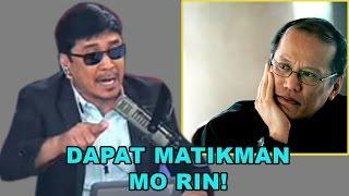 BITAG TO PNOY: Porke't tapos na termino mo, itigil na pagpakulong sa presidenteng tulad mo?