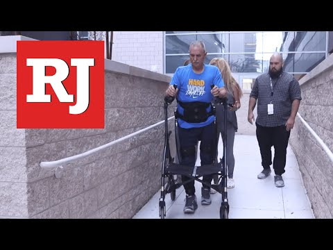 Veteran part of nationwide program studying exoskeletons for paralysis