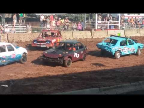 Fond du lac Wisconsin demo derby 2016