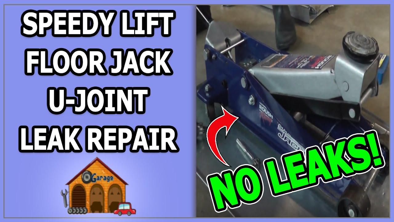 Speedy Lift Floor Jack U Joint Leak Repair Youtube