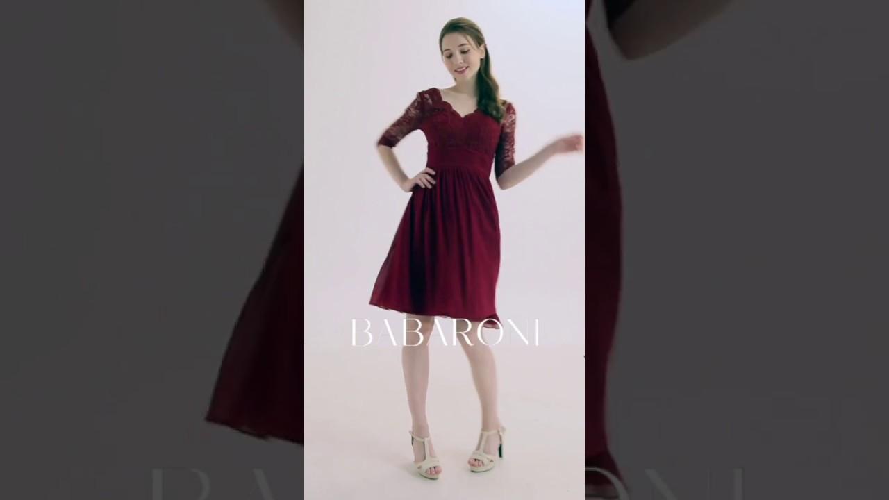 aa62a1dc7 Babaroni Alexia Bridesmaid Dresses Video