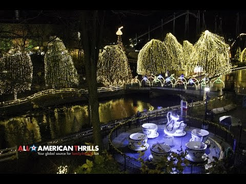 christmas candylane at hersheypark 2015 in hd