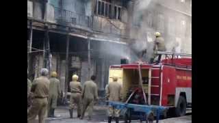 9 June Sadar Bazar Fire- Early Mobile Clip.MPG