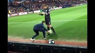 Quand t'es ramasseur de balle au football (clashs, chutes, blagues...)