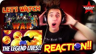 THE LEGEND OF ZARAMA!!| LET'S WATCH Anime War Episode 5 *DRAGON* REACTION!!