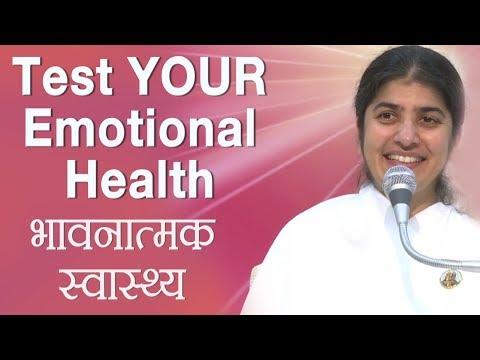 Test YOUR Emotional Health: BK Shivani (Hindi) thumbnail