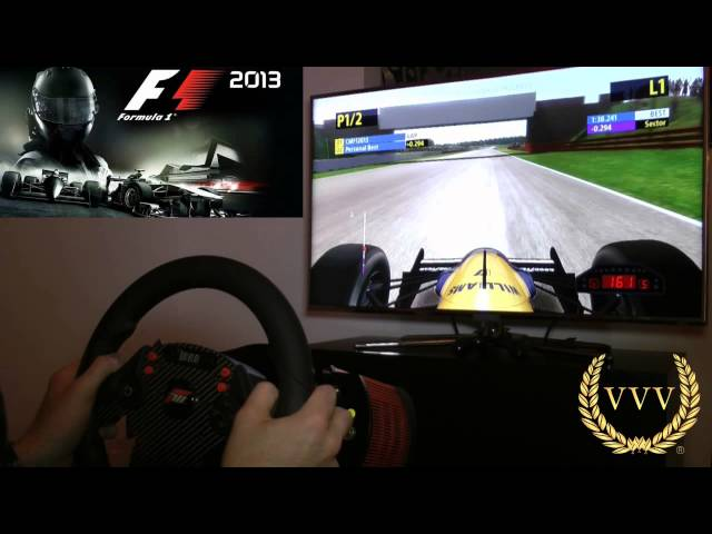 F1 2013 Classic Silverstone Practice Gameplay