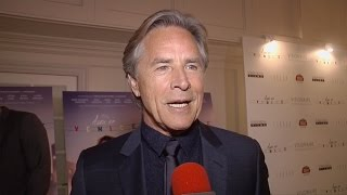 Don Johnson on Alex of Venice, Fifty Shades of Grey, Advise for Aspiring Actors