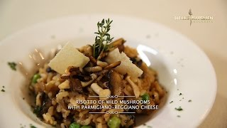 Hell's Kitchen At Home #2 - Risotto Of Wild Mushrooms With Parmigiano-reggiano Cheese By Chef Juna