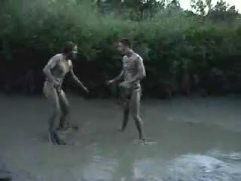 man thong mud wrestling