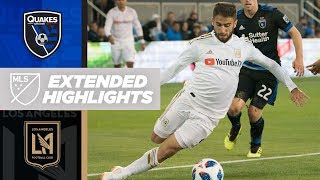 Stoppage time drama in san jose | extended highlights