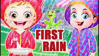 Baby Hazel First Rain | Fun Game Videos By Baby Hazel Games