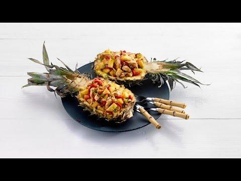 Pittige kip-ananassalade – Allerhande