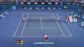 Wawrinka's hot shots |  Australian Open 2014